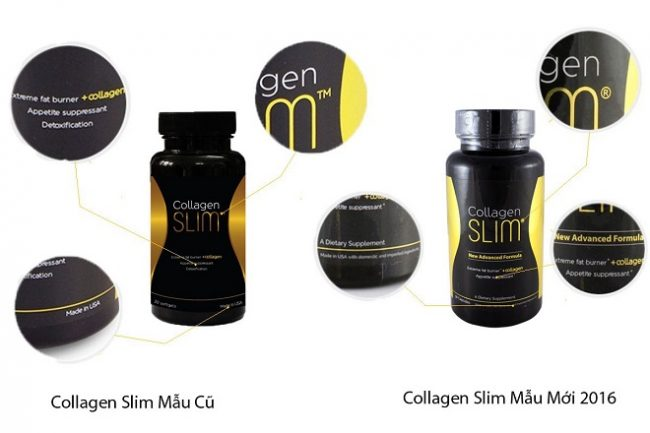 so sánh collagen slim